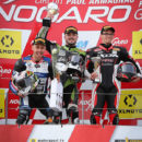 FSBK 2018 Podium Nogaro Kenny Foray
